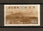 Stamps Asia - Japan -  Parques Naturales de Daisen /Volcan Daisen
