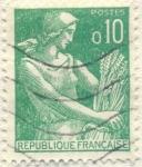 Sellos de Europa - Francia -  Postes Republique française