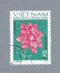Sellos de Asia - Vietnam -  Flor