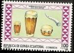 Stamps Africa - Equatorial Guinea -  Instrumentos musicales - etnia Ndowe