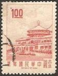 Stamps Asia - Taiwan -  593 - Palacio de Chungshan