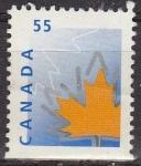 Sellos de America - Canadá -  CANADA 2010 Sello Maple Leaf Hoja Arce usado