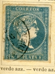Stamps Spain -  Antillas Españolas Ed 1855