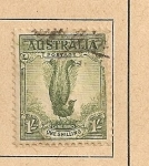 Stamps Oceania - Australia -  Pájaro lira