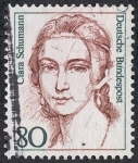 Stamps Germany -  Personajes