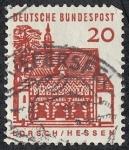 Stamps Germany -  Edificios y monumentos