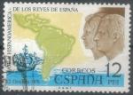 Stamps Spain -  ESPANA 1976 (E2370) Viaje a Hispanoamerica de los Reyes de Espana 12 1 INTERCAMBIO