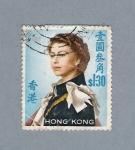 Sellos del Mundo : Asia : Hong_Kong : Reina Isabel II