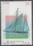 Stamps : Europe : Spain :  ESPAÑA 1994 (E3315) Barcos de epoca - Saltillo 29p