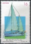 Stamps : Europe : Spain :  ESPAÑA 1994 (E3314) Barcos de epoca - Giralda 16p