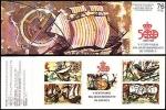 Stamps : Europe : Spain :  ESPAÑA 1990 (E3079C) V Centenario del Descubrimiento de America. Viajes - Navios del sXVI 8 20 + 5