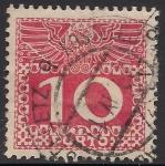 Stamps Oceania - Austria -  Números -1908
