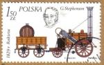 Sellos de Europa - Polonia -  Trenes