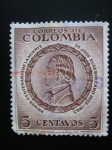 Stamps of the world : Colombia :  1er Centenario de la muerte de Jose Eusebio Caro