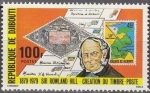 Stamps Africa - Djibouti -  DJIBOUTI 1979 Scott 494 Sello Nuevo Sir Rowland Cartas, Sello, Costa Somali y Cartas Barco