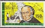 Stamps Africa - Djibouti -  DJIBOUTI 1979 Scott 495 Sello Nuevo Sir Rowland Hill Descargando Correo de Barco y Cartas