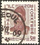 Stamps : Asia : South_Korea :  rey se zong