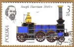 Stamps of the world : Poland :  Trenes