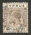 Stamps Asia - Cyprus -  george V
