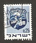 Stamps : Asia : Israel :  escudo de la ciudad de givatayim