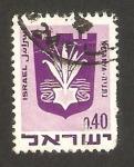 Stamps : Asia : Israel :  escudo de la ciudad de natanya
