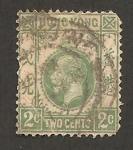 Stamps Hong Kong -  george V