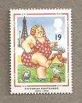 Stamps United Kingdom -  Tarjetas postales 1894-1994
