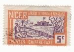 Sellos del Mundo : Africa : Níger : Colonia Francesa