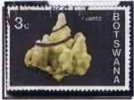 Stamps Africa - Botswana -  Cuarzo