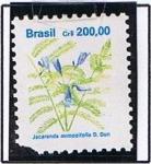Stamps Brazil -  Jacaranda