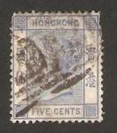 Stamps Asia - Hong Kong -  reina victoria