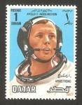 Stamps Asia - Qatar -  armstrong, astronauta del apolo XI, misión a la luna
