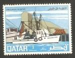Sellos del Mundo : Asia : Qatar : progreso en Qatar, barcos