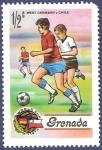 Sellos de America - Granada -  GRANADA Fútbol 0,50 NUEVO