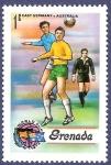Sellos de America - Granada -  GRANADA Fútbol 1 NUEVO
