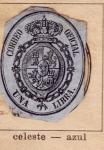 Sellos del Mundo : Europa : España : Escudo Ed 1855