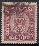 Sellos de Europa - Austria -  ESCUDOS-1916
