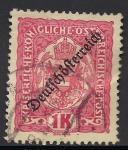 Sellos de Europa - Austria -  ESCUDOS-1918