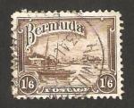 Stamps America - Bermuda -  puerto hamilton