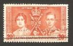 Stamps Kenya -  Kenya Uganda Tanganika  - coronación de george VI