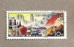 Stamps North Korea -  Mejora del nivel de vida
