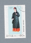 Stamps Asia - North Korea -  Trajes Típicos