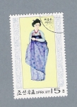 Stamps Asia - North Korea -  Trajes Típicos