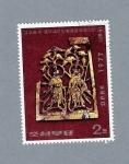 Stamps North Korea -  Joya