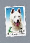 Sellos de Asia - Corea del norte -  Perro