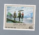 Sellos de Asia - Corea del norte -  Día de llúvia