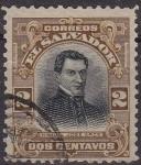 Sellos de America - El Salvador -  EL SALVADOR 1911 Scott 403 Sello Personajes Manuel Jose Arce Usado