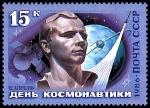 Stamps Russia -  YURI GAGARIN