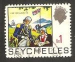 Stamps Africa - Seychelles -  elizabeth II, capitulación