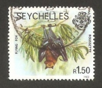 Stamps Africa - Seychelles -  fauna, murciélago